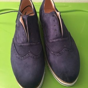 Blue Oxfords size 8.5